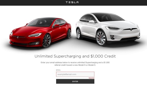 Best Referral Programs - Tesla