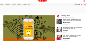 Yourstory - free guest posting site