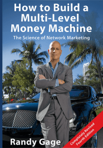 Multi-Level Marketing Books - Randy Cage