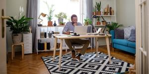 Set Up A Designated Workstation For Working From Home In India