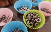 Muffin/cupcake cups are great temporary small parts organizers. Thanks Reddit!