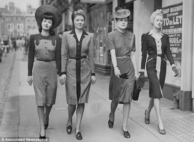 Make Do Monday     1940s fashion     Dig For Victory Show austerity