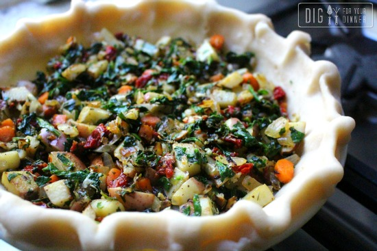 Sundried Tomato and Spinach Quiche