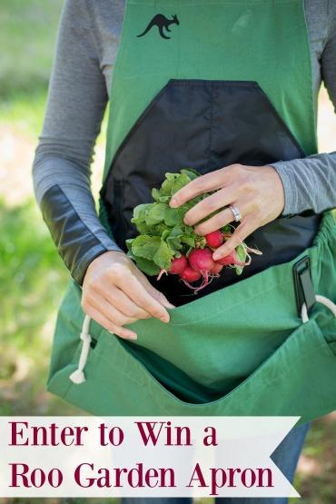 roo garden apron