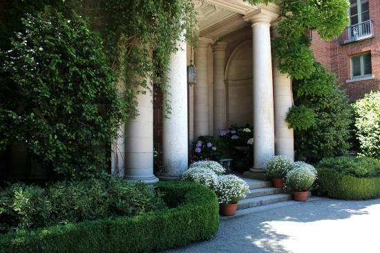 Filoli Mansion front porch