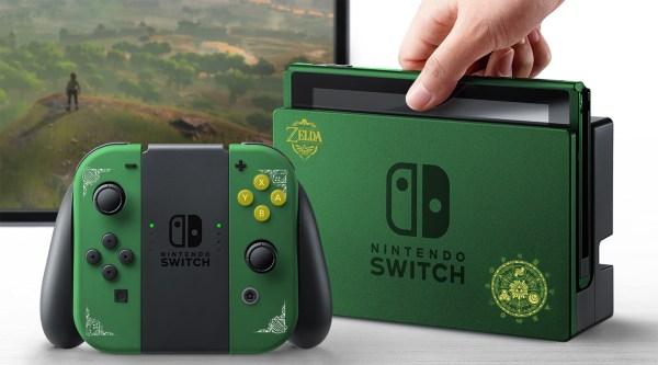 Nintendo Switch, edición especial de Zelda.