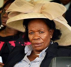 Higher education minister Professor Nkandu Luo: File picture