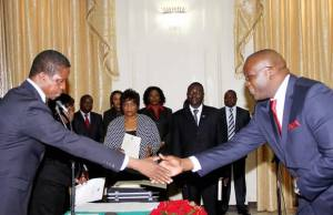 President Edgar Lungu swears in Likando Kalaluka