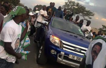 Chishimba Kambwili's PF supporters being mobilised in Copperbelt Province as he awaits the outcome of Central Committee