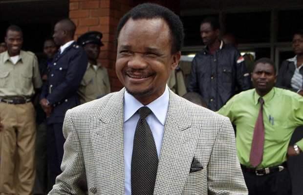 Second Republican President of Zambia Fredrick Chiluba: File picture