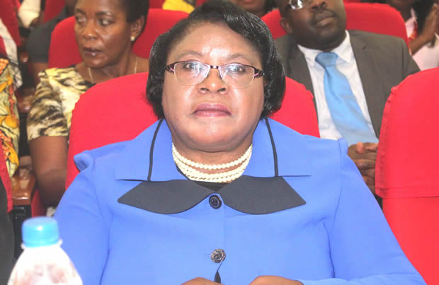 former auditor general Anna Chifungula at Government Complex in Lusaka-picture by Tenson Mkhala
