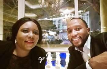 Dora Siliya and Mark Ode Mubalama