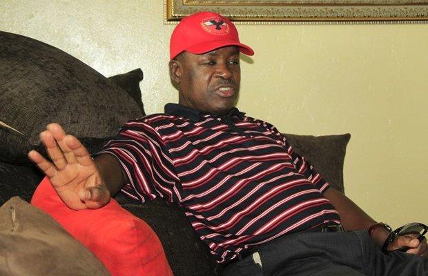 Rainbow Leader Wynter Kabimba in Lusaka-Picture by Tenson Mkhala