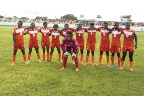 Zambia National Women football team in Lusaka-picture by Tenson Mkhala