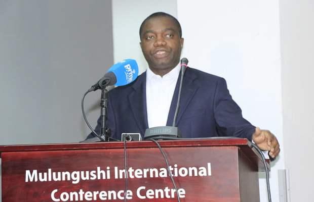 Lawyer John Sangwa in Lusaka-picture by Tenson Mkhala