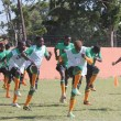 Zambia's Under 20 football team training in Lusaka: File picture