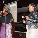 Shatel perform during Joe Chibangu funereal at Mulungushi International Conference Center in Lusaka