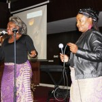 Shatel perform during Joe Chibangu funereal at Mulungushi International Conference Center in Lusaka