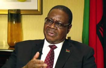 President of the Republic of Malawi Prof Arthur Peter Mutharika