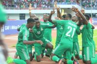 Young Chipolopolo celebrate after qualifying to the 2017 FIFA U-20 World Cup