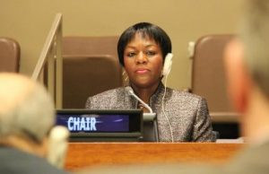 Permanent Mission of the Republic of Zambia to the United Nations Chargé d'Affaires Ad Interim Christine Kalamwina