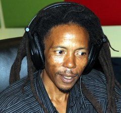 Human Right Activist Maiko Zulu on UNZA radio during Lusaka Star program-picture by Tenson Mkhala