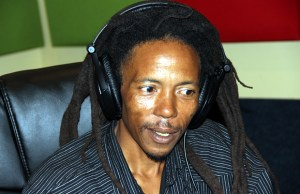 Human Right Activist Maiko Zulu on UNZA radio during Lusaka Star program-picture by Tenson Mkhala