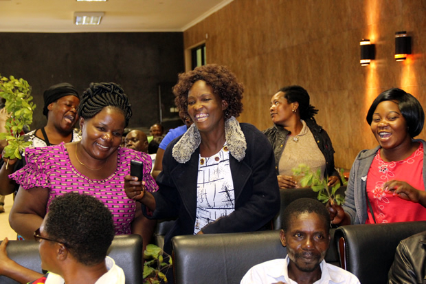 FDD women during the launch of 'The Save FDD Committee' at Lusaka's Courtyard Hotel-picture by Tenson Mkhala