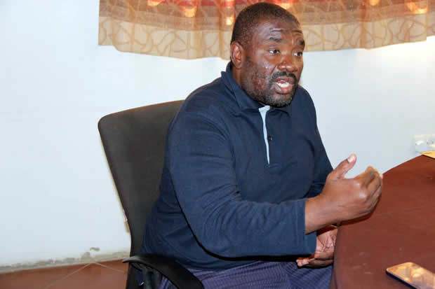 Islamic Council of Zambia president Suzyo Zimba speaks to News Diggers! at his office Picture By Tenson Mkhala