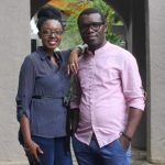 Zambia Association of Musicians president Njoya Tembo with his wife Brenda