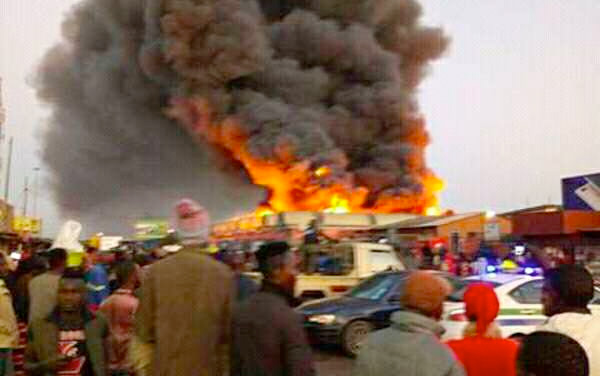 City Market fire