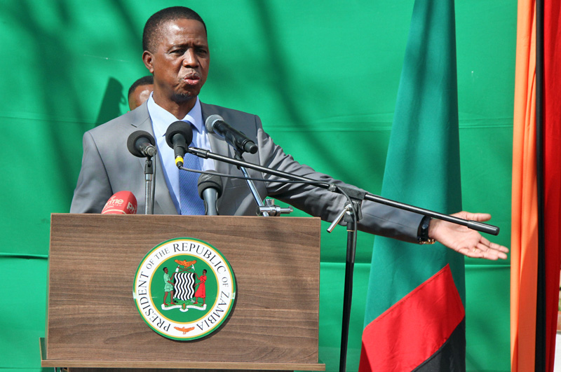 Lungu at State House 23