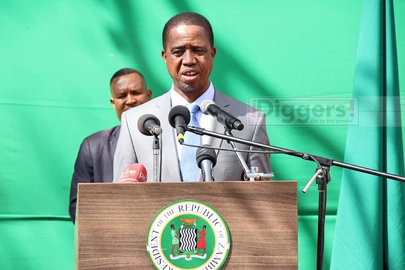 Lungu speaking