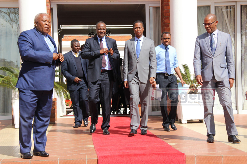 Lungu with Mvunga State House