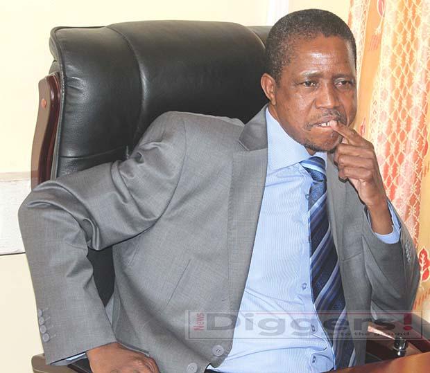 President Edgar Lungu picture by Tenson Mkhala