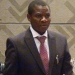 David Mabumba in Parliament
