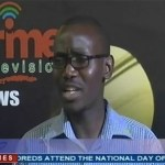 Prime TV news analyst Mark Simuwe