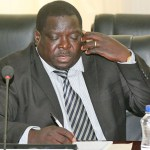 Chishimba Kambwili in Cabinet as Sports minister on June 2, 2014 - Picture by Joseph Mwenda
