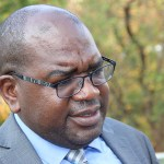 Health Minister Dr Chitalu Chilufya shortly after meeting some Catholic Bishops at Kapingila House in Lusaka on November 7, 2017 - Picture by Tenson Mkhala
