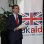 British High Commissioner to Zambia Fergus Cochrane-Dyet
