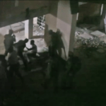 Police beating a CBU student