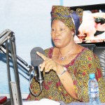 Forum for Democracy and Development leader Edith Nawakwi speaks during a Burning Issue radio program on 5FM in Lusaka on January 4, 2018 - Picture by Tenson Mkhala