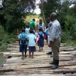 Washed away bridge keeps Chisamba pupils away from school
