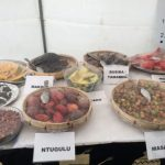 Some local foodstuffs exhibited at a HIVOS event in Lusaka on July 18, 2018