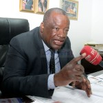 Monze UPND Member of Parliament Jack Mwiimbu address journalists during a press briefing at his office in Lusaka on January 22, 2020 - Picture by Tenson Mkhala