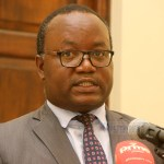 State House special assistant to the President for press and public relations Isaac Chipampe addresses journalists at State House on February 19, 2020 – Picture by Tenson Mkhala