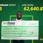 How Morgan turned K5 into K62,640.85 with betPawa