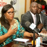Information and Broadcasting Services Minister Dora Siliya and Mines Minister Richard Musukwa during a joint press briefing in Lusaka on March 20, 2020 – Picture by Tenson Mkhala