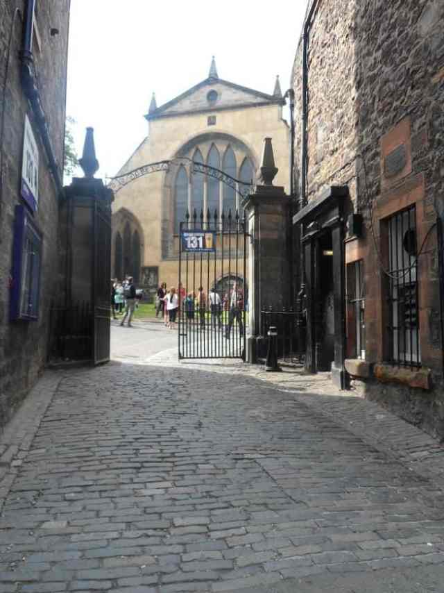 Gates to Greyfriars Kirkyard, Edinbrugh, Scotland