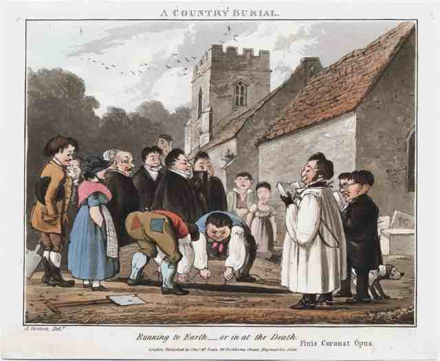 A Country Burial courtesy of Lewis Walpole Library
